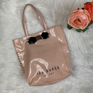 Ted Baker Pink Patent Tote